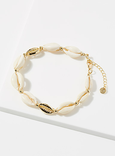 Genuine shell anklet