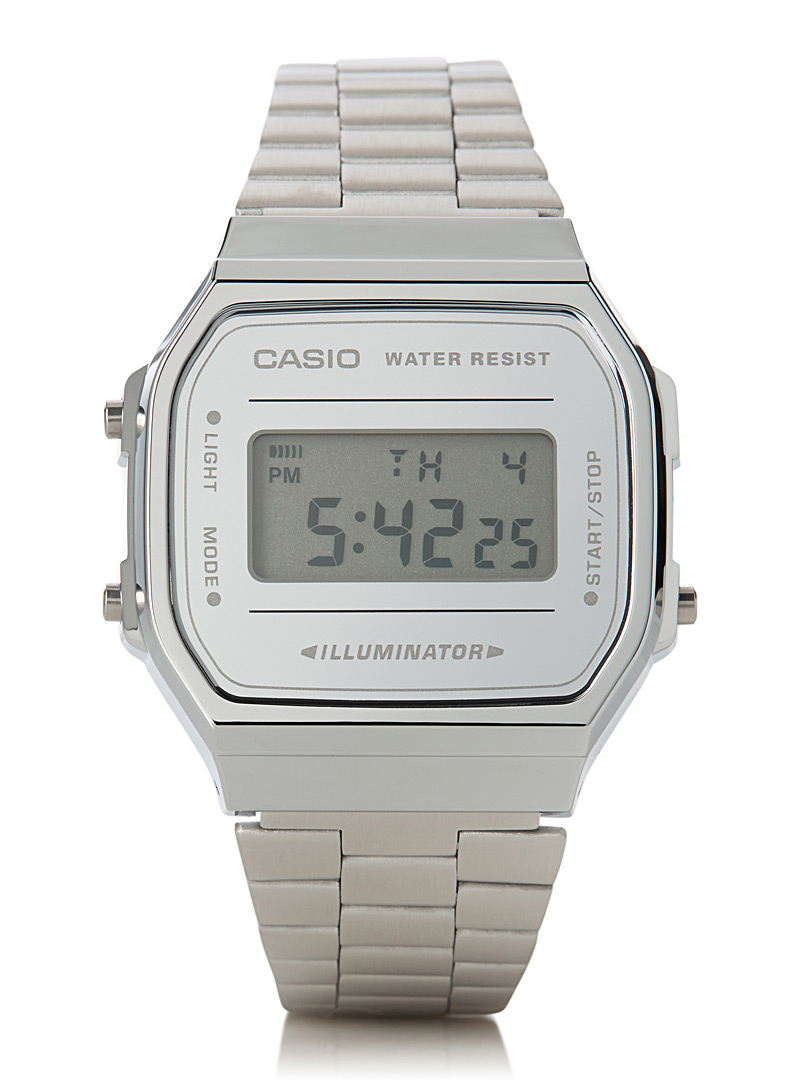 Luminescent silver watch - Watches - Silver