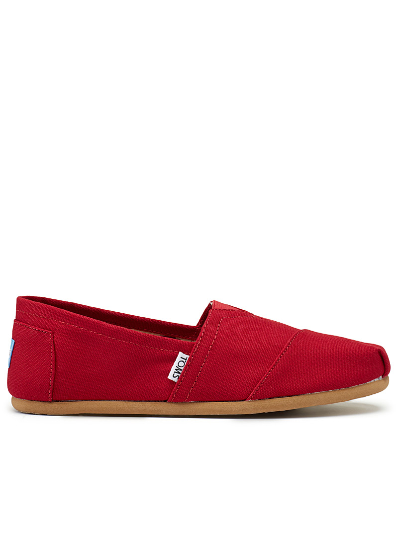 Alpargata red slip-ons  Men - Casual - Red