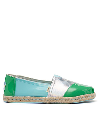 Jelly multicolour espadrilles <br>Women