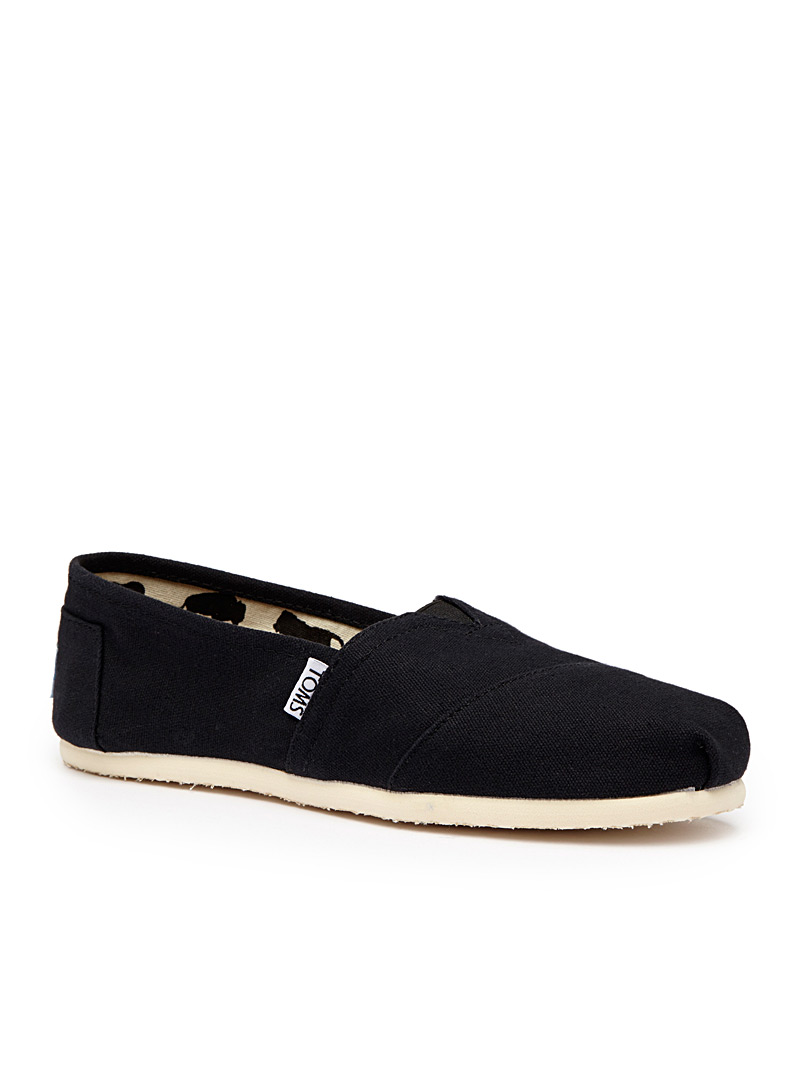 Toms Black Classic canvas slip-ons  Women for women