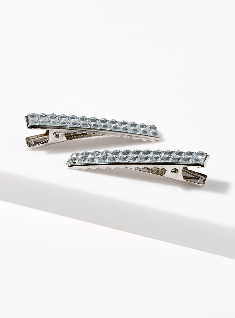 Sparkly clips  Set of 2 - Barrettes and Clips - Assorted
