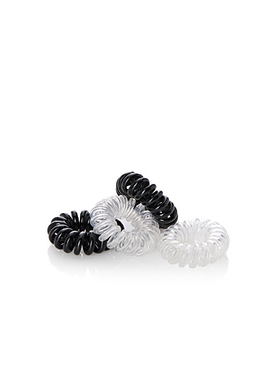 Mini spiral elastics  Set of 4