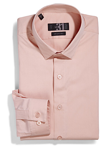 Sleek stretch shirt  Tailored fit