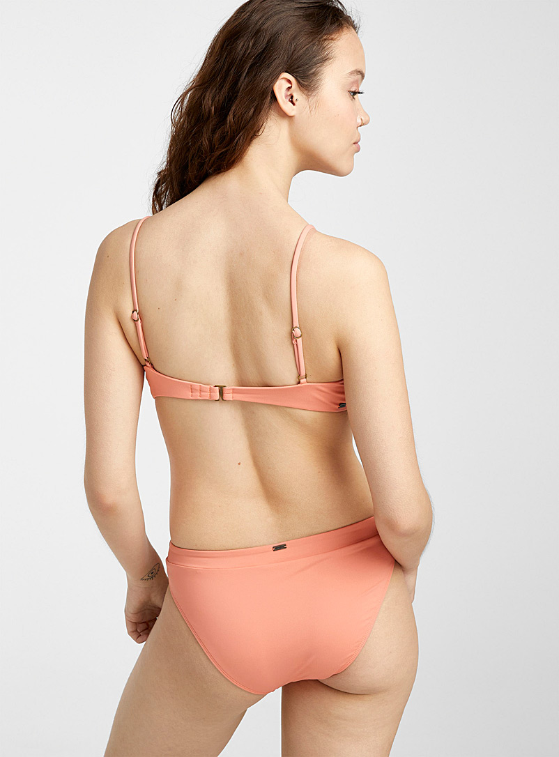 O'Neill Pink Perfect peach slim bikini for women