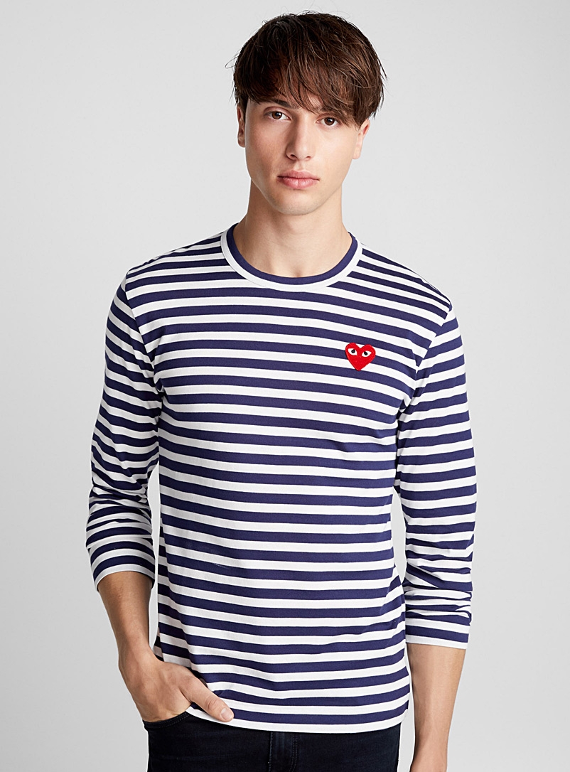 striped-logo-t-shirt