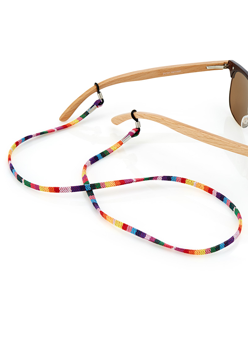 Colourful weave sunglasses strap - Assorted Extras - Assorted