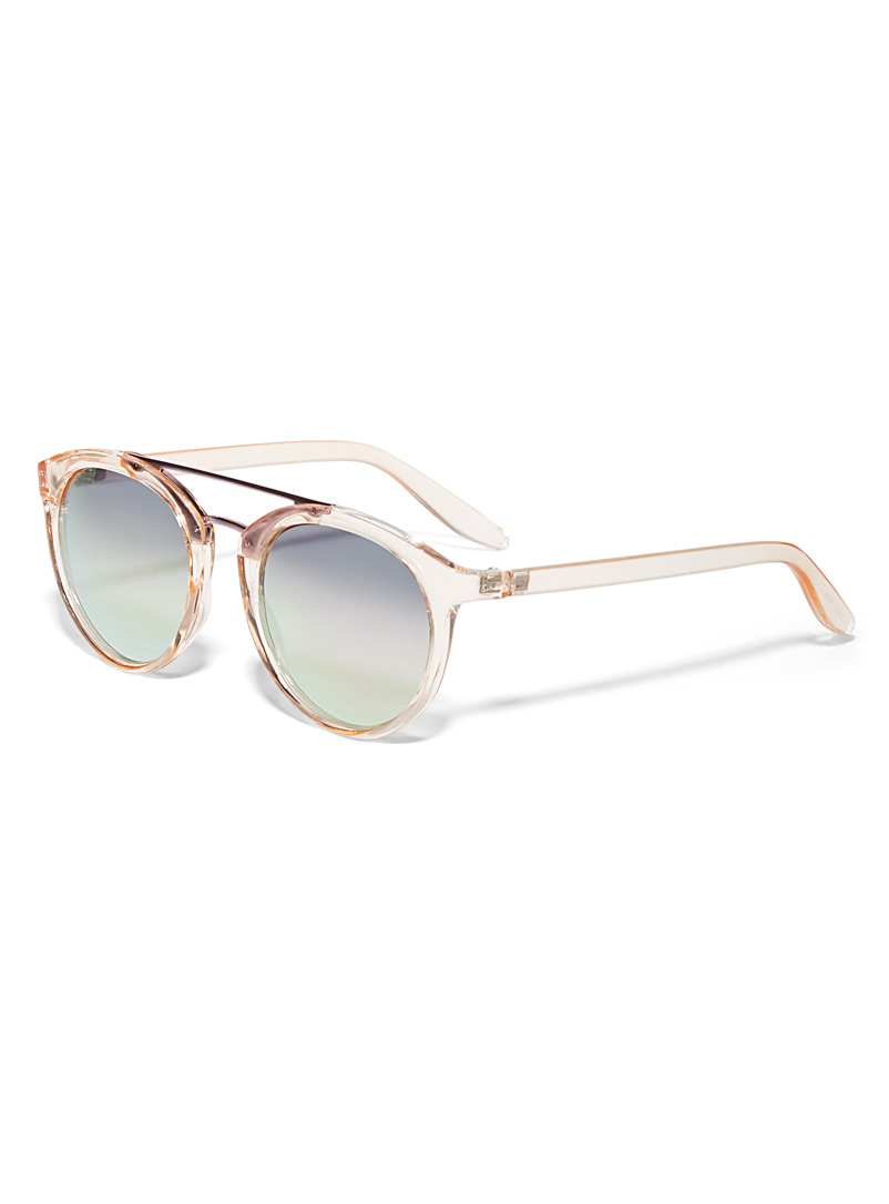 Rave round sunglasses - Less than $50 - Pink