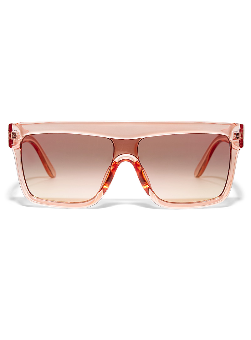 Simons Assorted Lucy wide frame sunglasses for women
