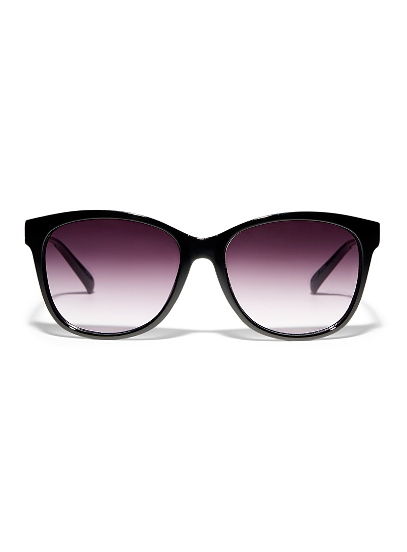 Simons Black Vicky square sunglasses for women