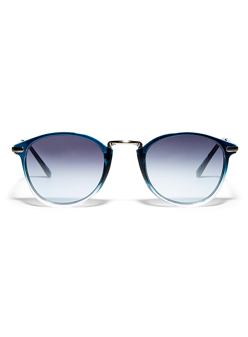 Simons Assorted Blossom round sunglasses for women