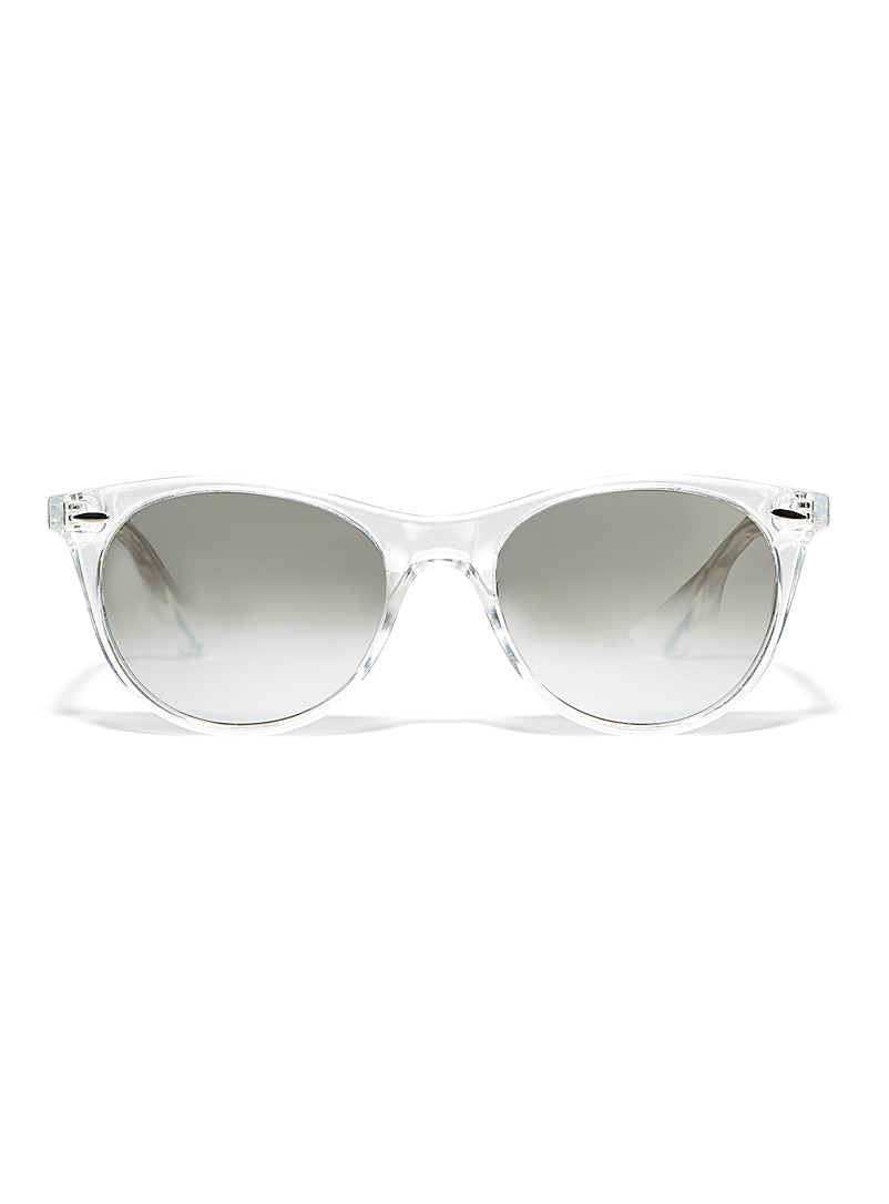 Simons Black Aria cat-eye sunglasses for women