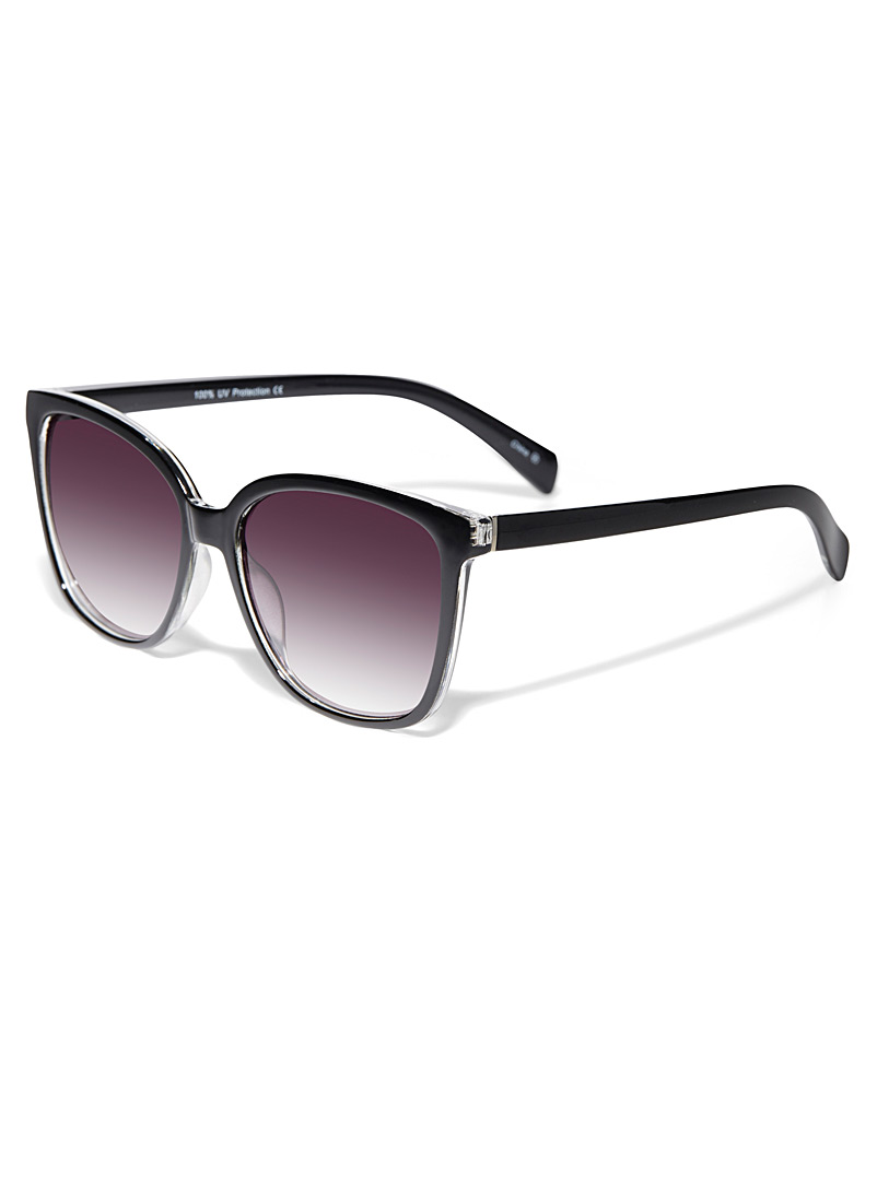 Simons Brown  Bloom square sunglasses for women