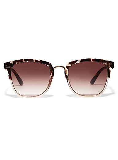 Casey multi-toned sunglasses
