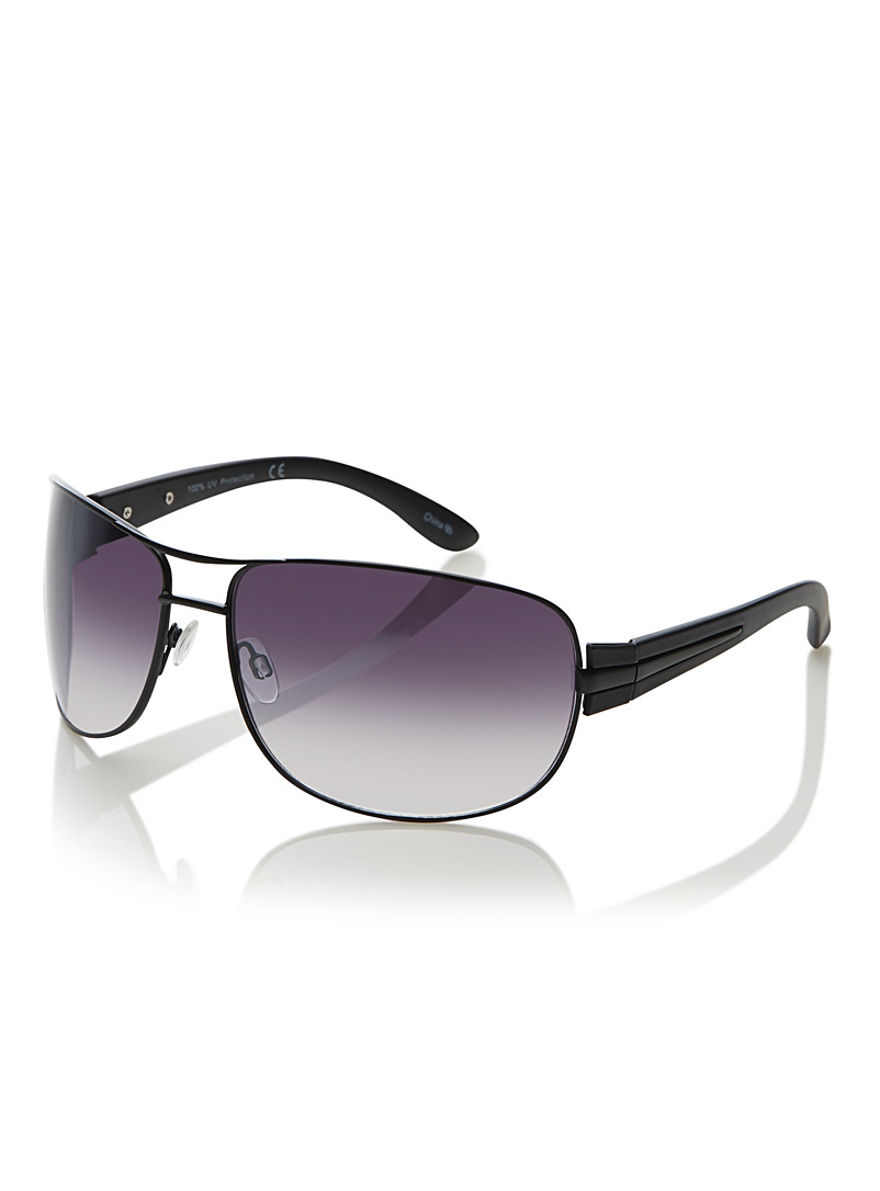 Willard rectangular sunglasses - Less than $50 - Black