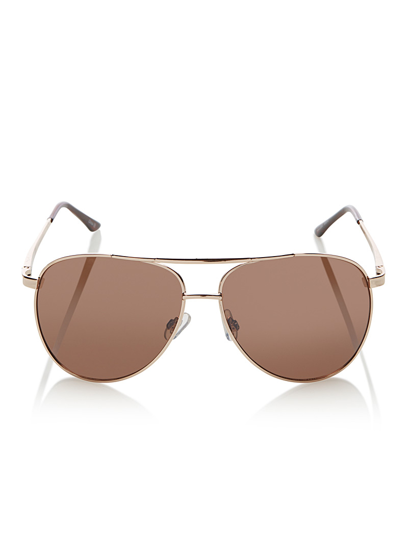 Marc aviator sunglasses - Aviator - Golden Yellow