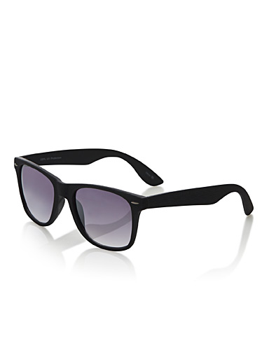 Hudson retro square sunglasses