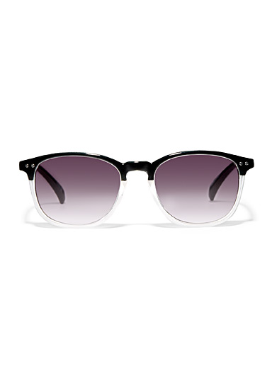 Rivet retro sunglasses