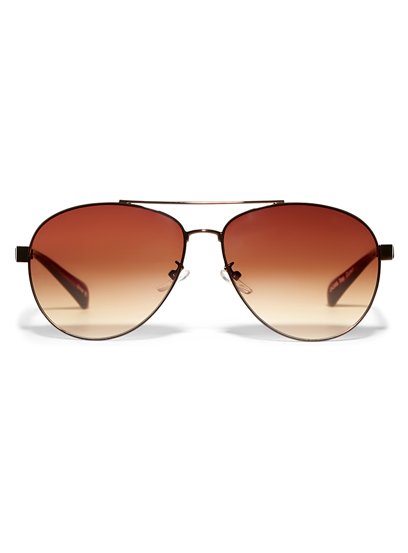 Topdown aviator sunglasses