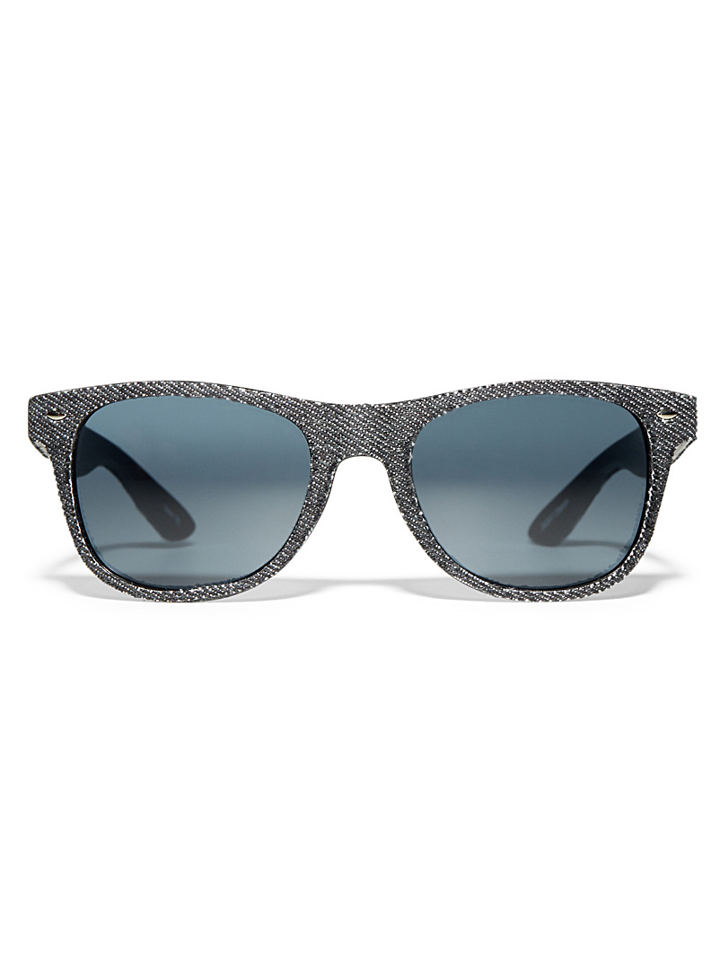 Denim square sunglasses - Less than $50 - Black