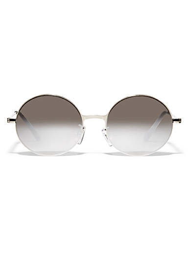 Clay round sunglasses