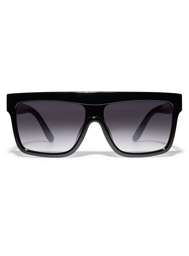 Le 31 Black Hugo sunglasses for men