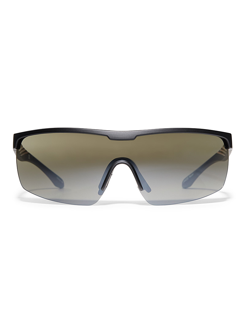 Le 31 Black Cyclist sunglasses for men