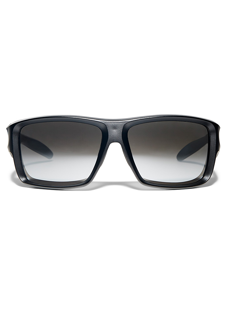 Le 31 Black Ryan matte sunglasses for men