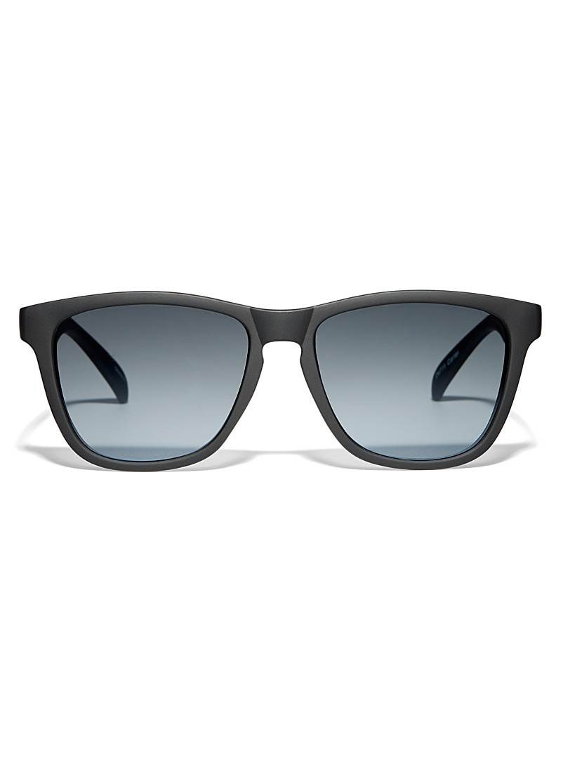 Le 31 Black Carter square sunglasses for men