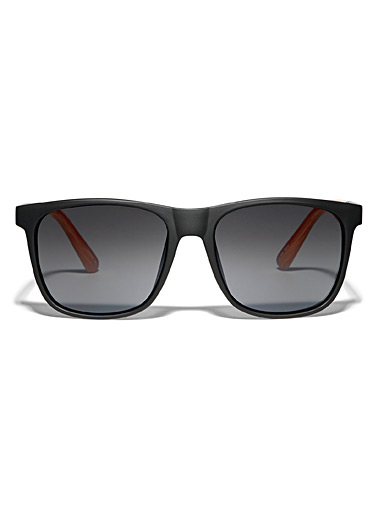 Trent square sunglasses