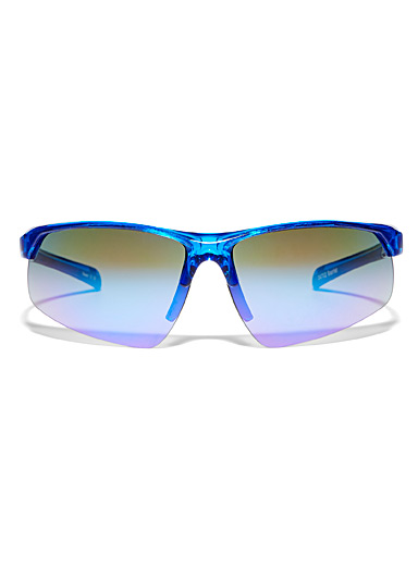 Barrier rectangular sunglasses