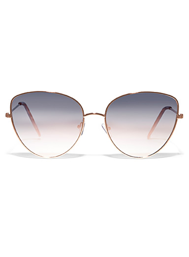 Adaline metallic sunglasses