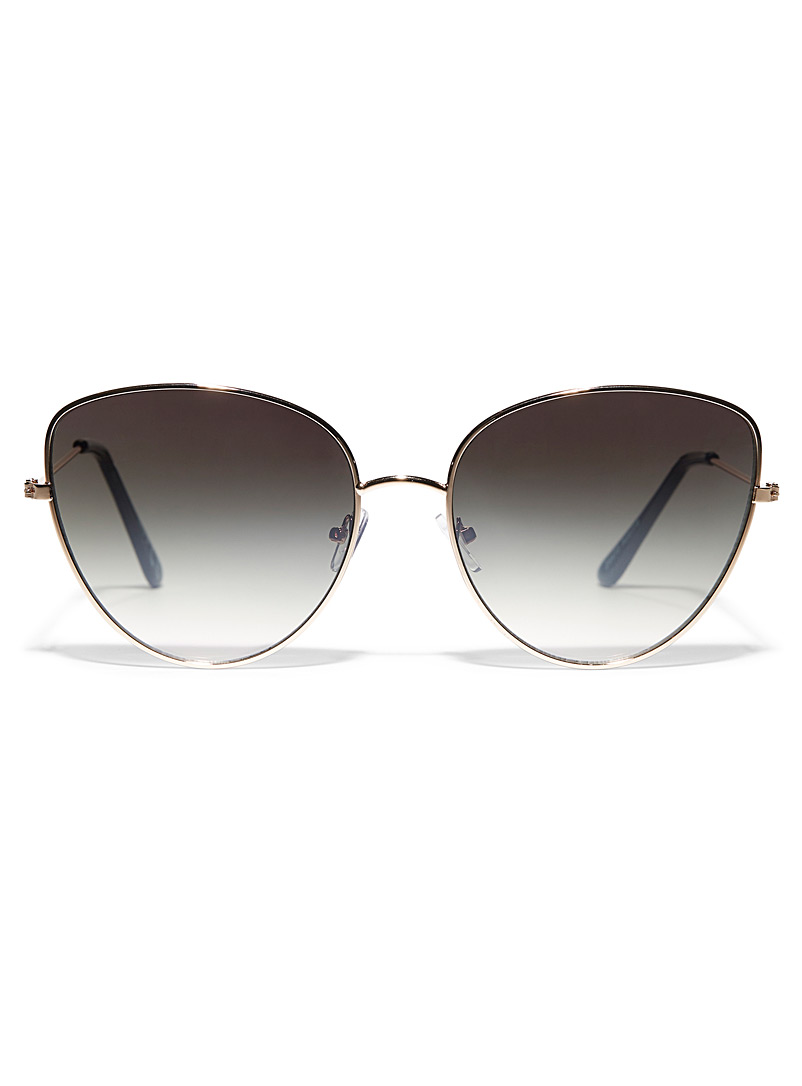 Simons Assorted Adaline metallic sunglasses for women
