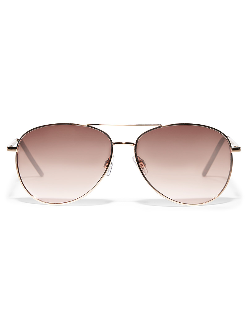 Simons Assorted Ruth aviator sunglasses for women