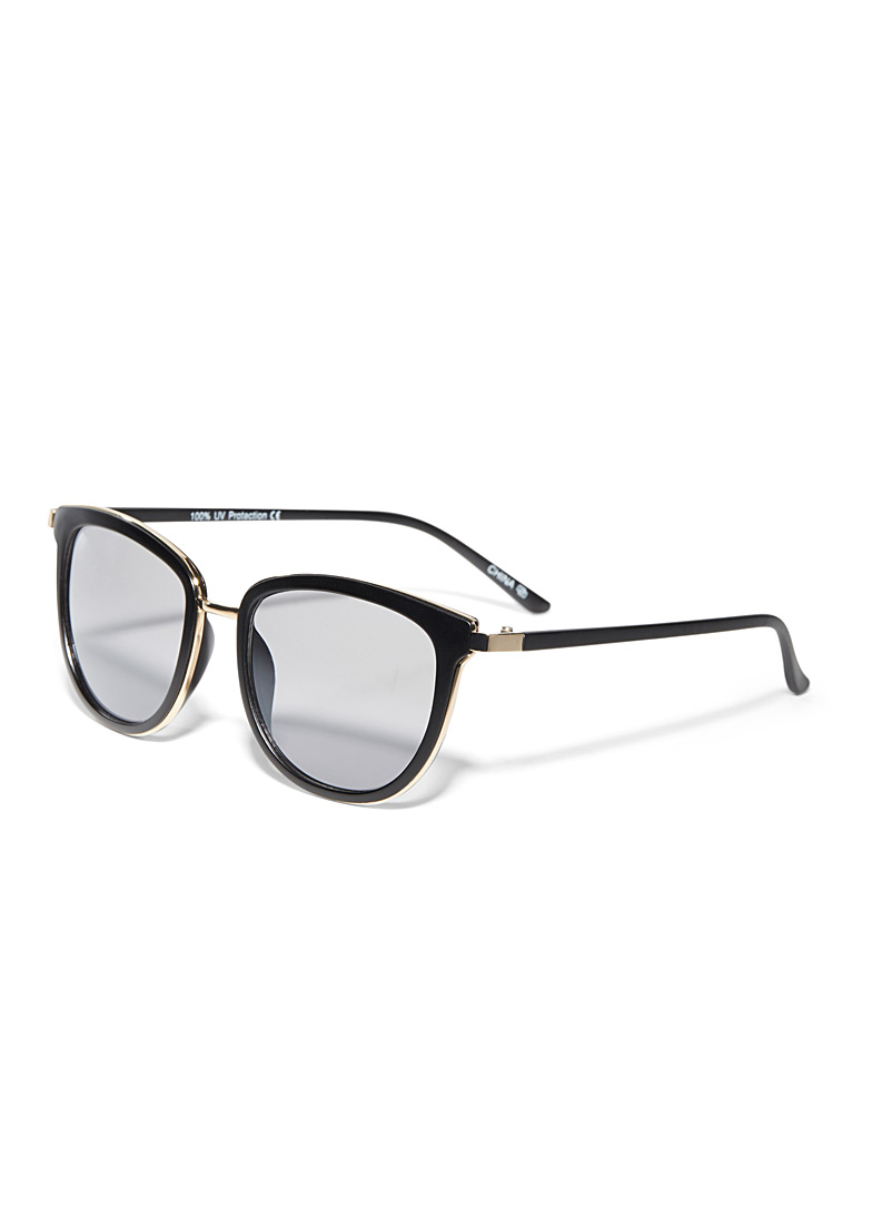 Simons Medium Brown Paradise square sunglasses for women