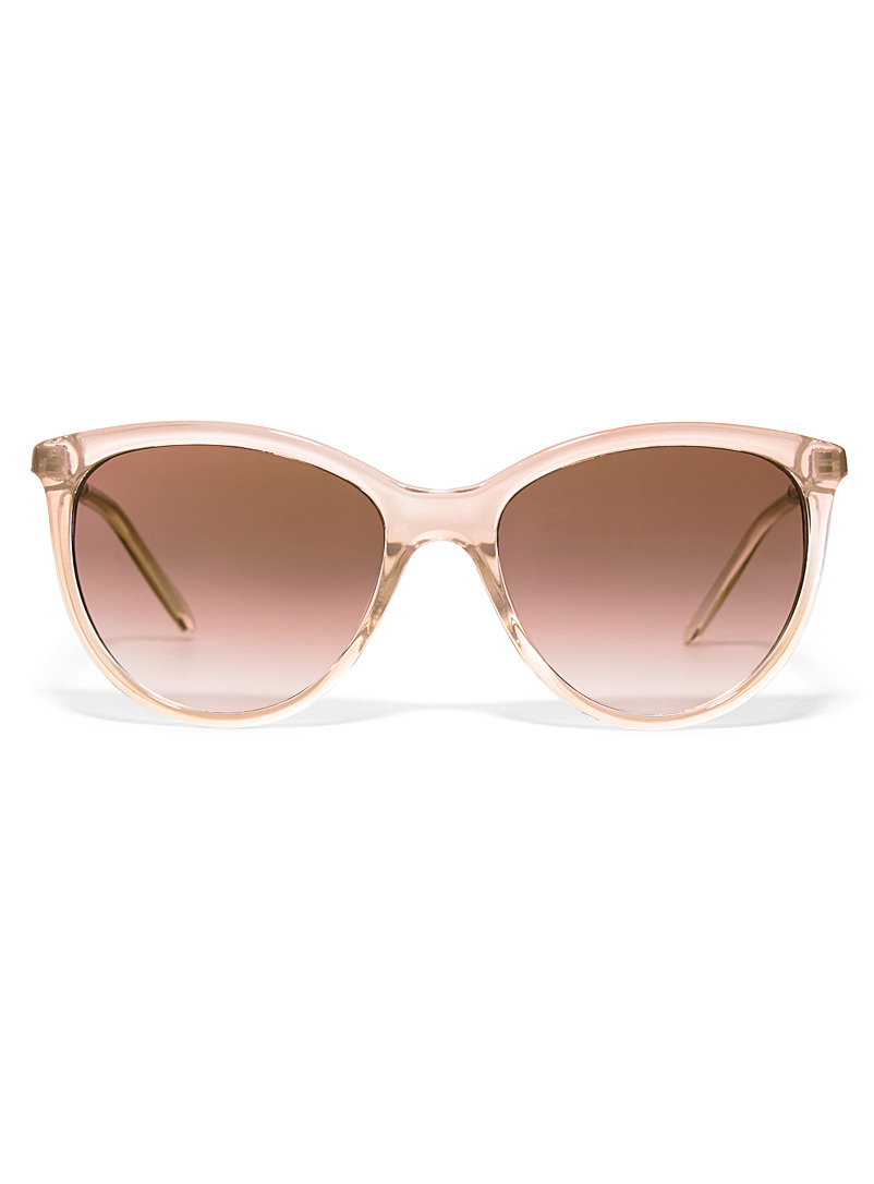 Simons Cream Beige Daphne cat-eye sunglasses for women