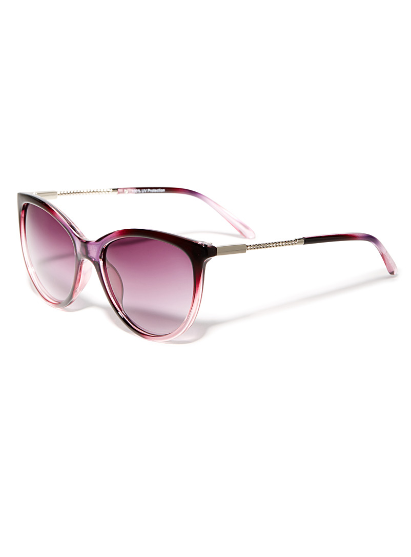 Daphne cat-eye sunglasses - Less than $50 - Cherry Red