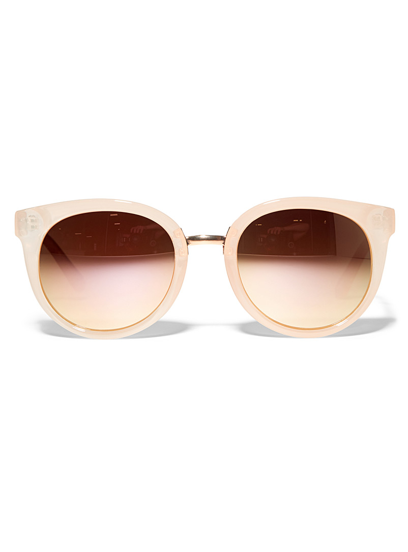 Felicia round sunglasses - Less than $50 - Ecru/Linen