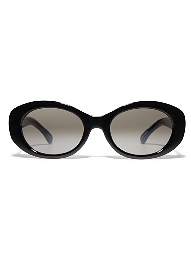 Emma oval sunglasses