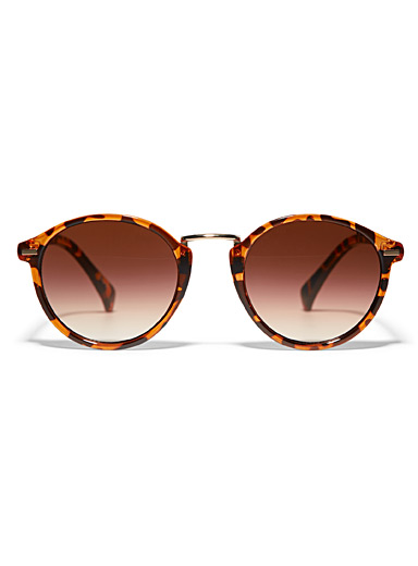 Heather round sunglasses