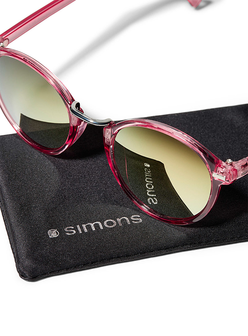 Heather round sunglasses - Less than $50 - Pink