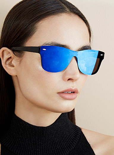 Mila chrome sunglasses
