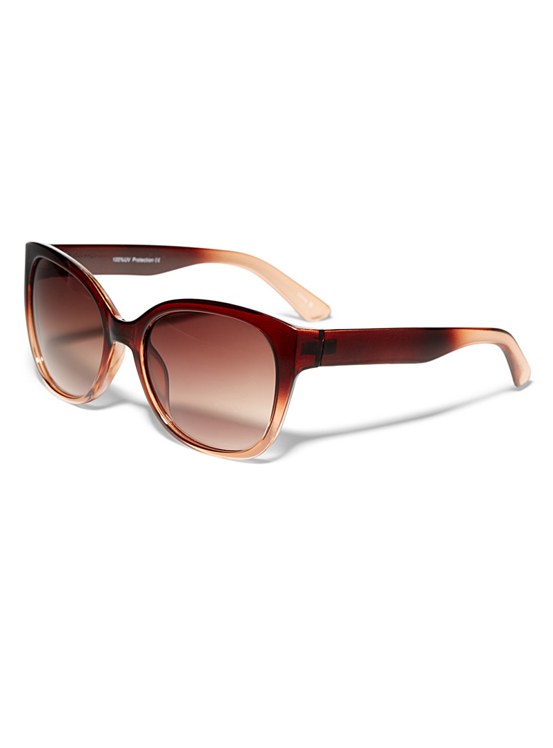 Marlene square sunglasses - Less than $50 - Brown
