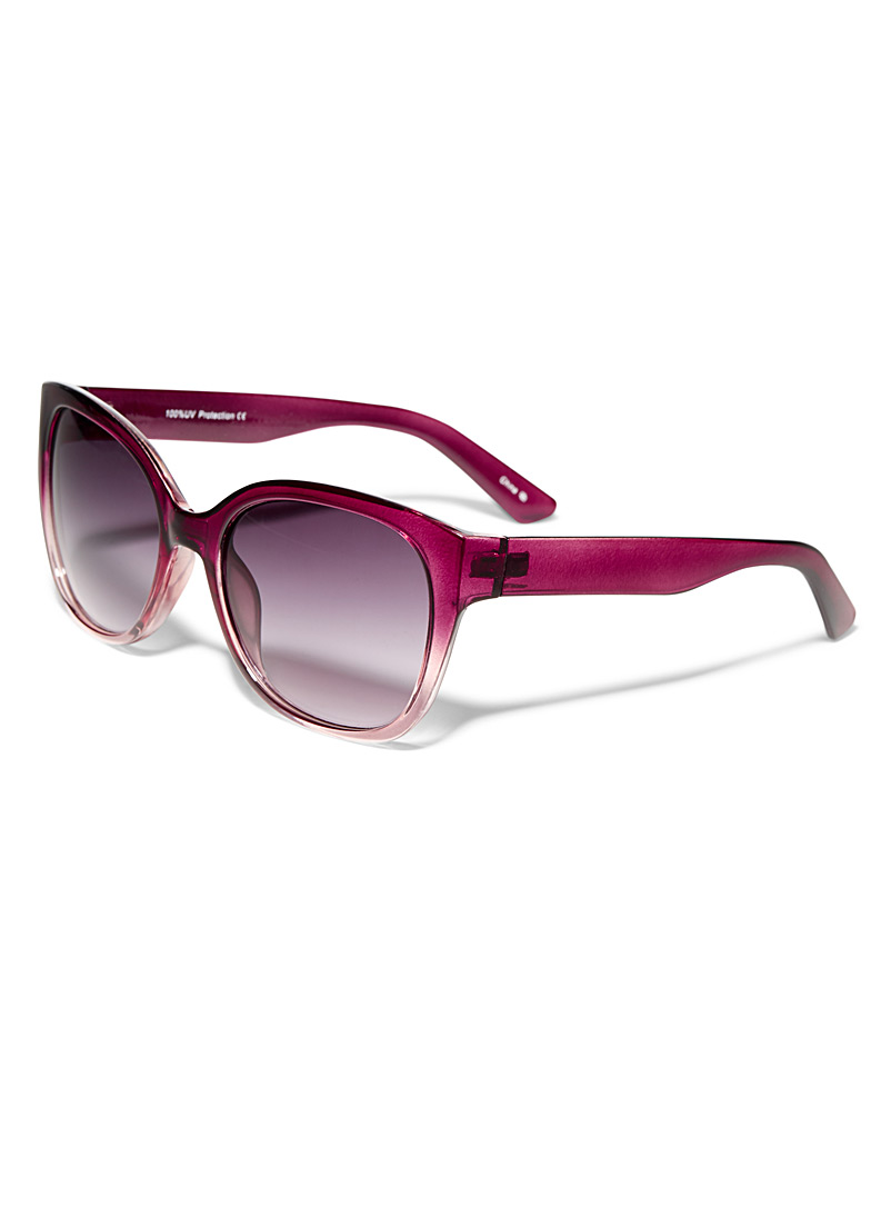 Marlene square sunglasses - Less than $50 - Ruby Red