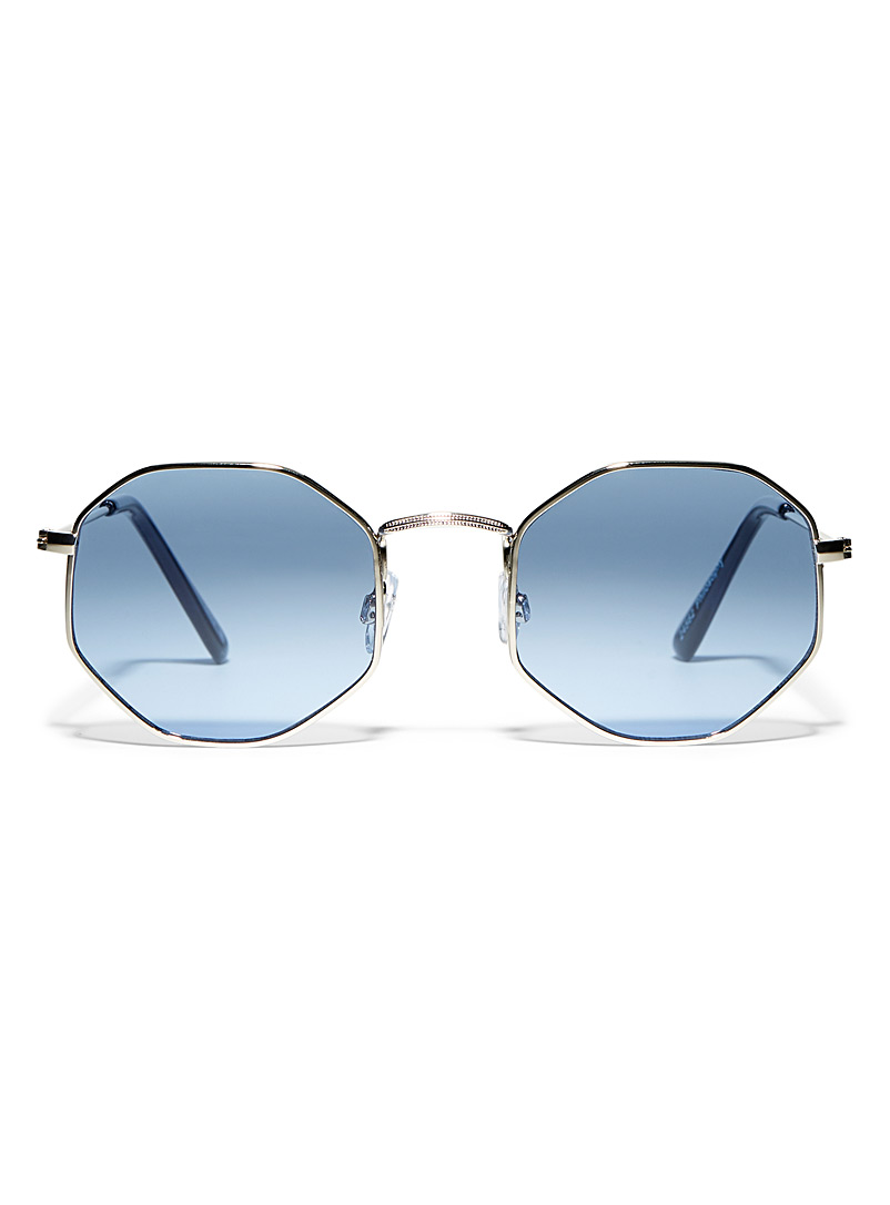 Simons Silver Philosophy octagonal sunglasses for women