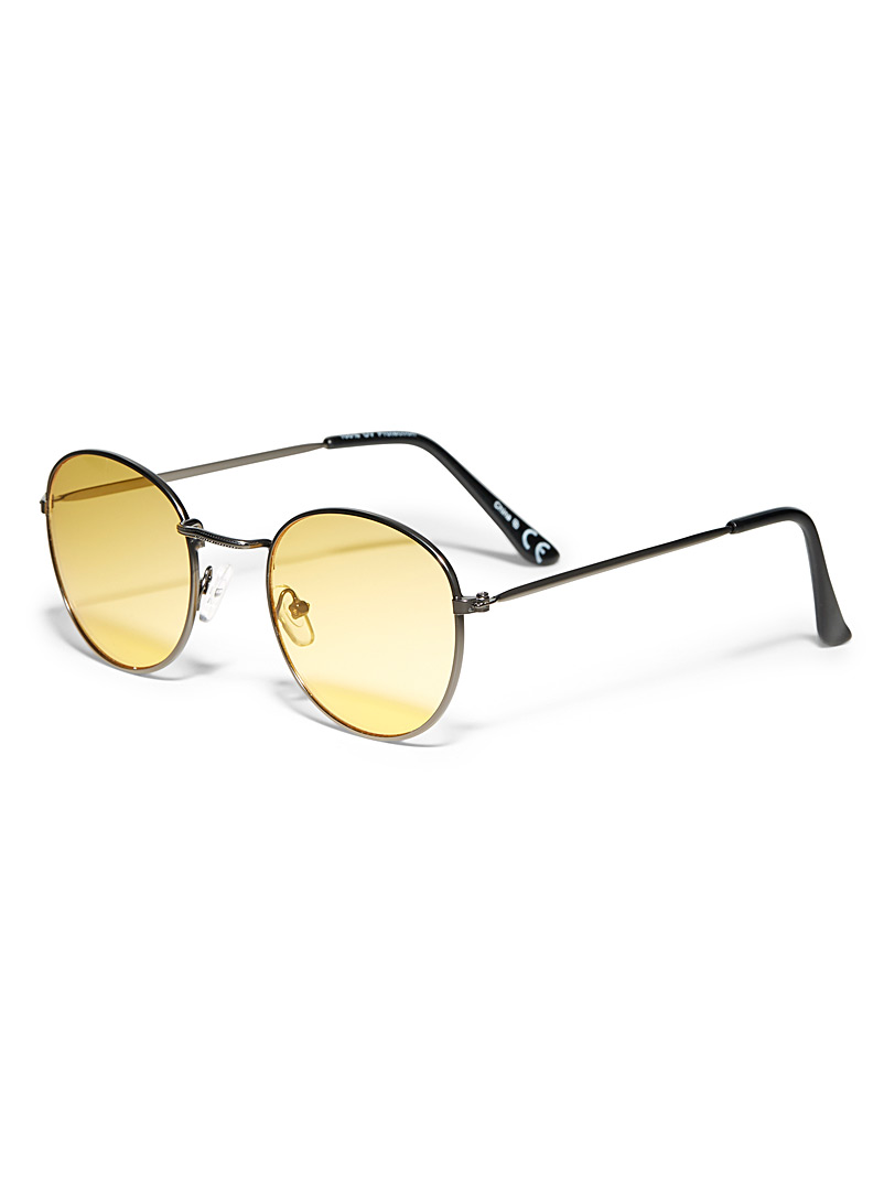 Simons Assorted Blues round sunglasses for women