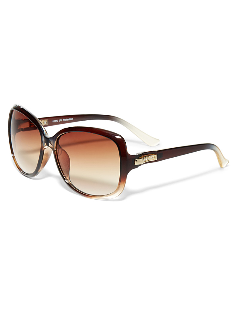 Margot square sunglasses - Less than $50 - Brown