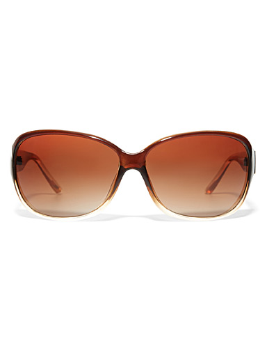 Connie rectangular sunglasses