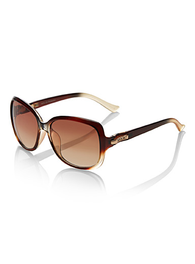 Margot square sunglasses