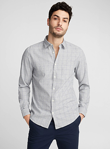 Prince of Wales shirt <br>Regular fit